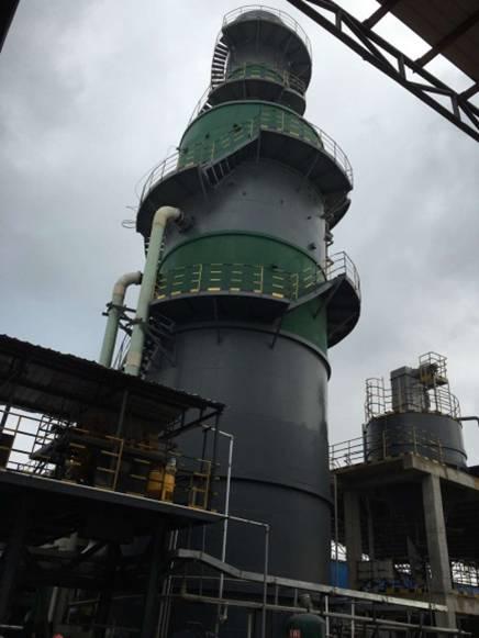 荣誉客户-江西沁园春陶瓷烟气脱硫项目